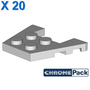 PLATE 3X4 W/ANGLE, 20 Stück