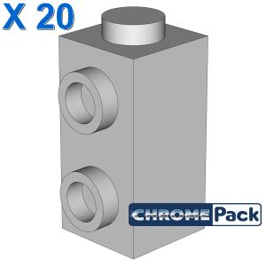 Brick, Modified 1 x 1 x 1 2/3 with Studs on 1 Side, 20 Stück